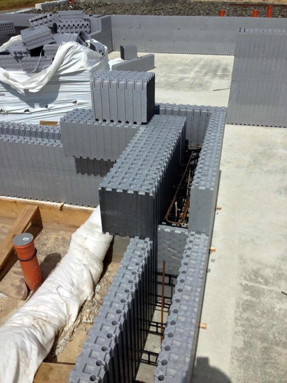 príprava na betónovanie