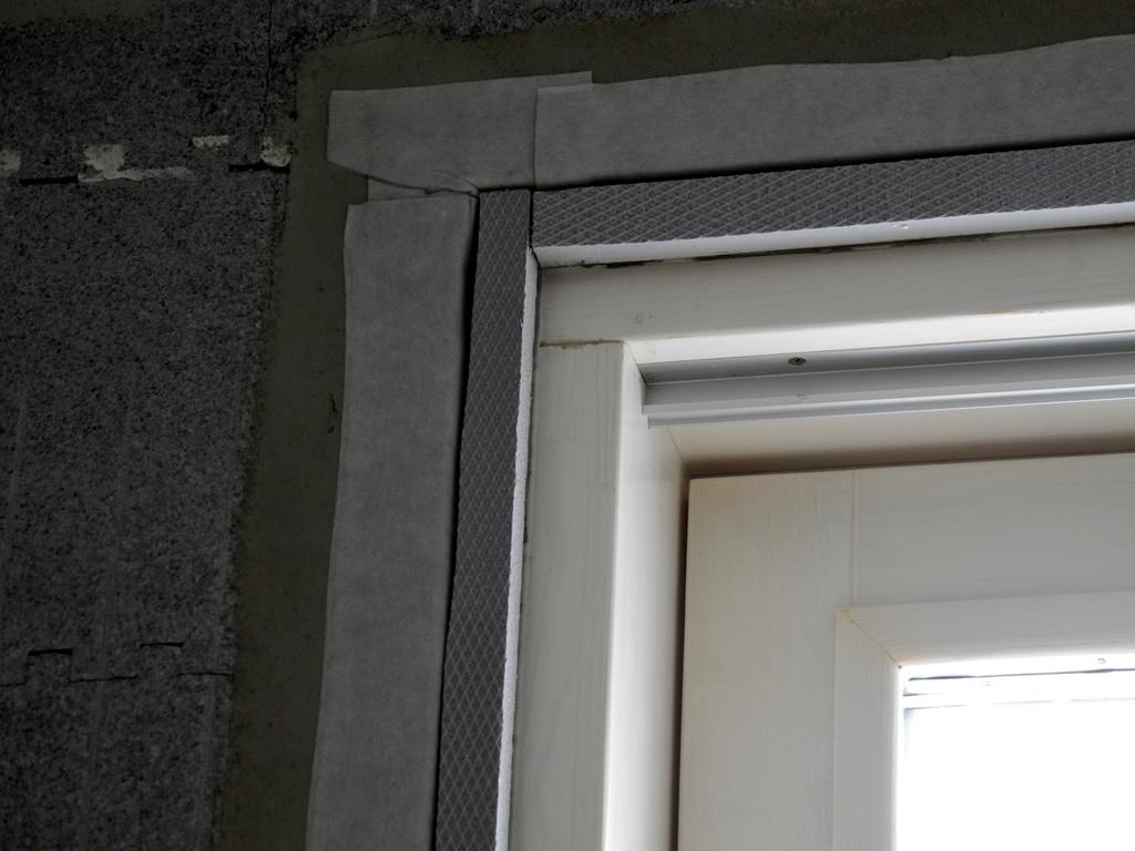 Zrovnanie okennej hrany